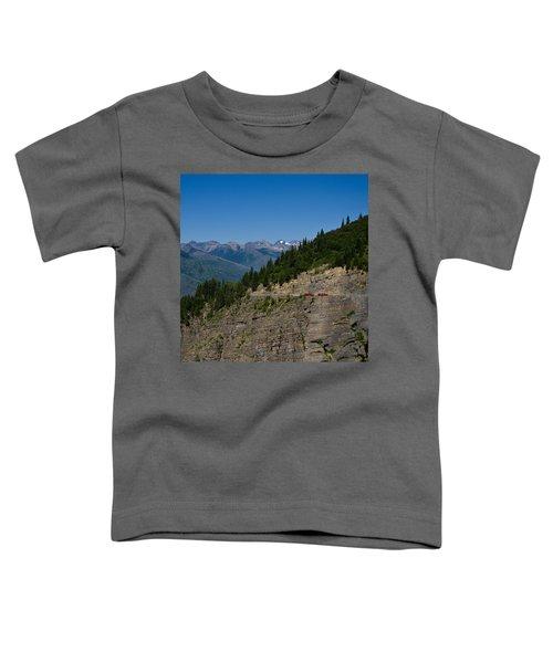 Red Buses, Glacier National Park Toddler T-Shirt