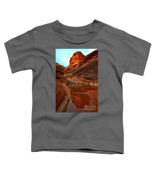 Red Cliffs Reflections Toddler T-Shirt