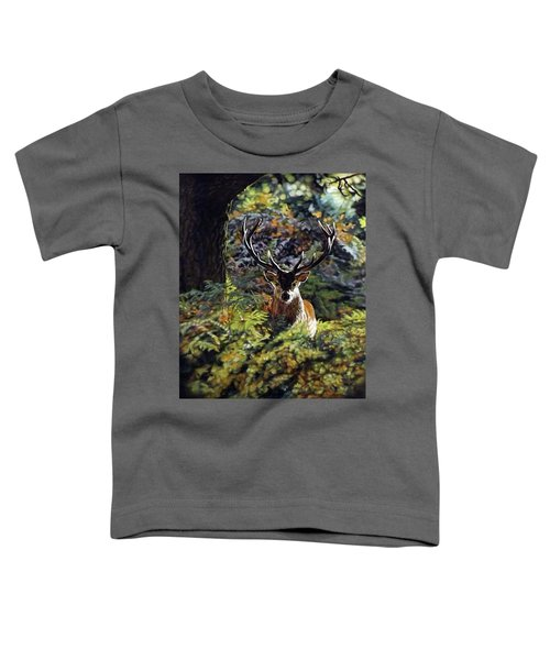Red Deer Stag Toddler T-Shirt
