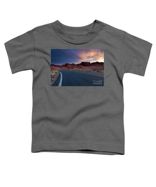 Red Desert Highway Toddler T-Shirt