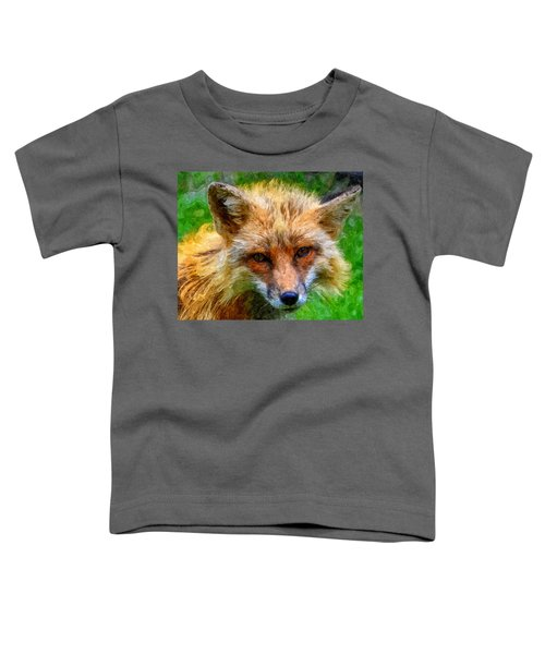 Red Fox Toddler T-Shirt