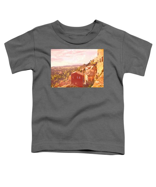 Red House On A Hill Toddler T-Shirt