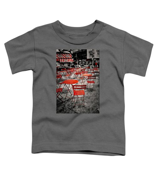 Red In My World - New York City Toddler T-Shirt