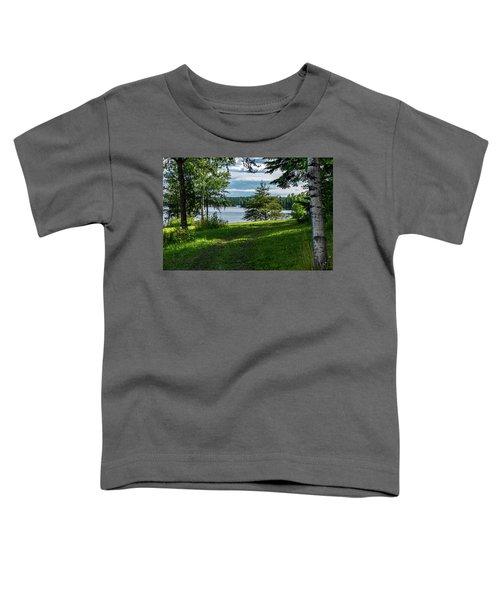Red Lake Ontario 2 Toddler T-Shirt