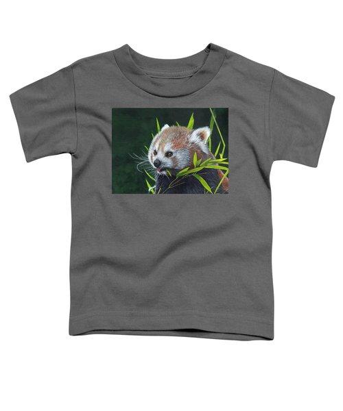 Red Panda Toddler T-Shirt