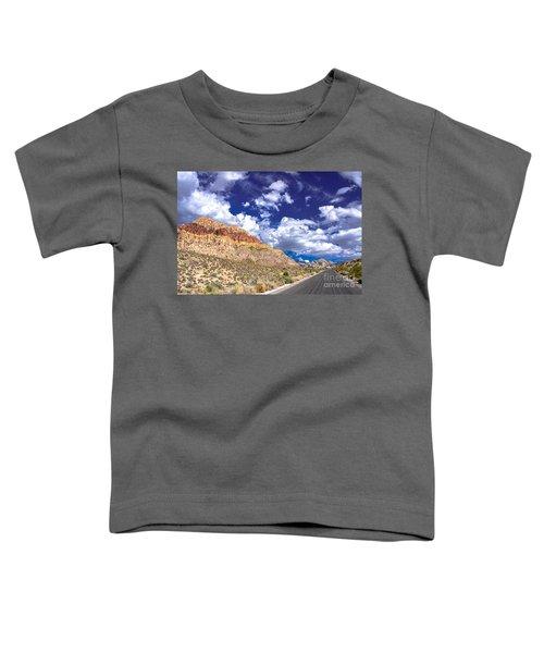 Red Rock Canyon Toddler T-Shirt