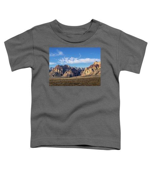 Red Rock Morning Toddler T-Shirt