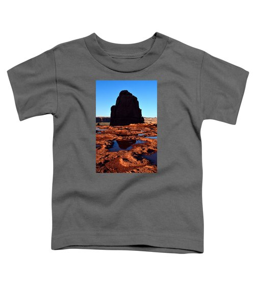 Red Rock Reflection At Sunset Toddler T-Shirt