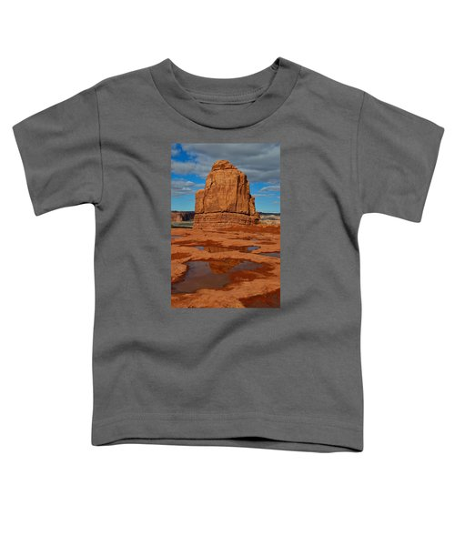 Red Rock Reflection Toddler T-Shirt