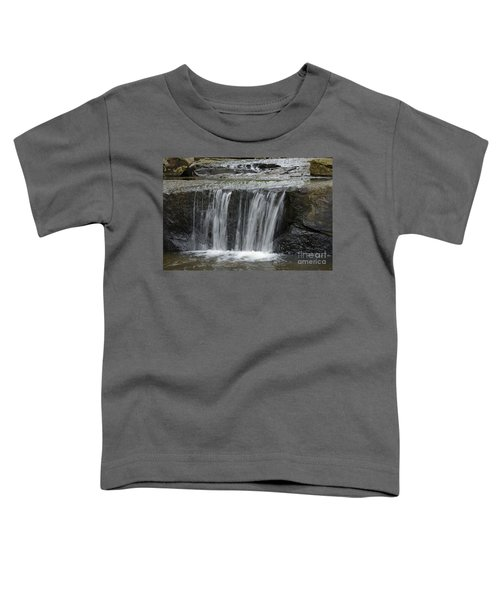 Red Run Waterfall Toddler T-Shirt