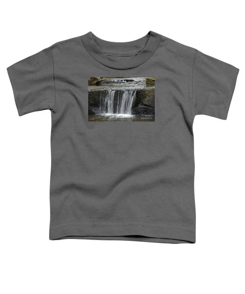 Red Run Waterfall Toddler T-Shirt