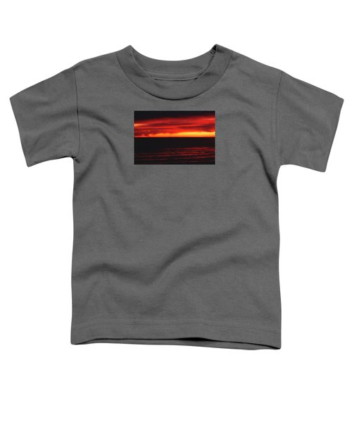 Red Sky At Night Toddler T-Shirt