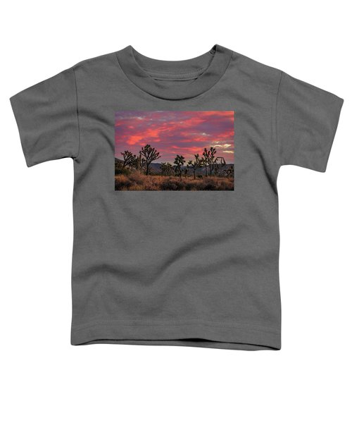 Red Sky Over Joshua Tree Toddler T-Shirt