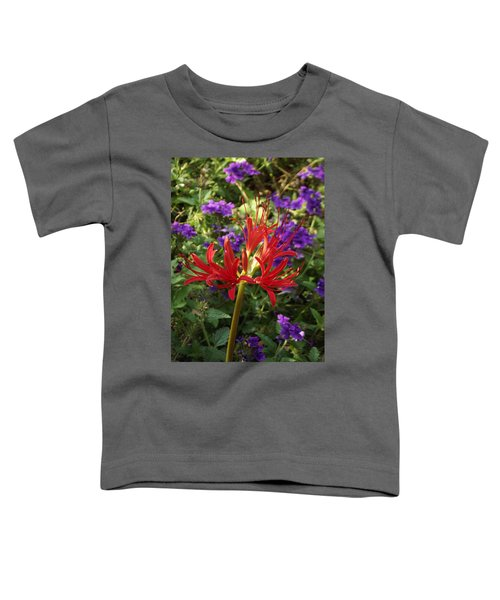 Red Spider Lily Toddler T-Shirt