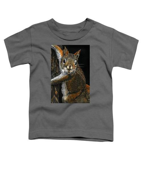 Red Squirrel Toddler T-Shirt