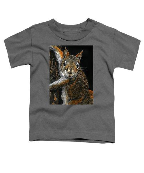 Red Squirrel Toddler T-Shirt