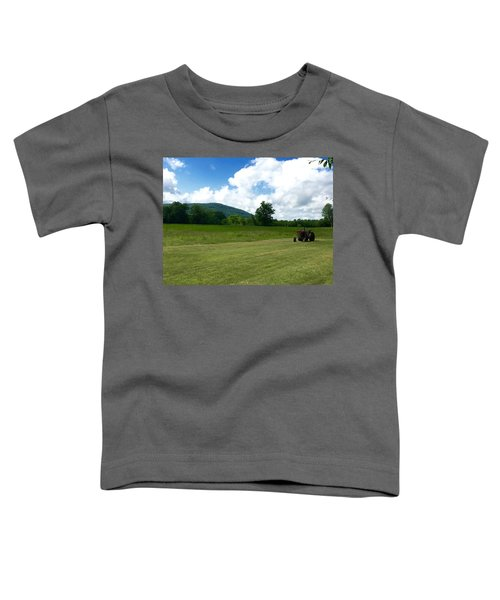 Red Tractor Toddler T-Shirt