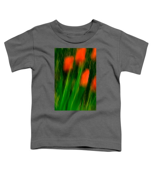 Red Tulips Toddler T-Shirt