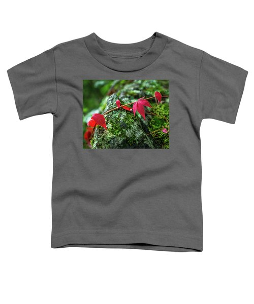 Toddler T-Shirt featuring the photograph Red Vine by Bill Pevlor