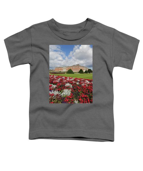 Red White And Blue At Hampton Court Toddler T-Shirt