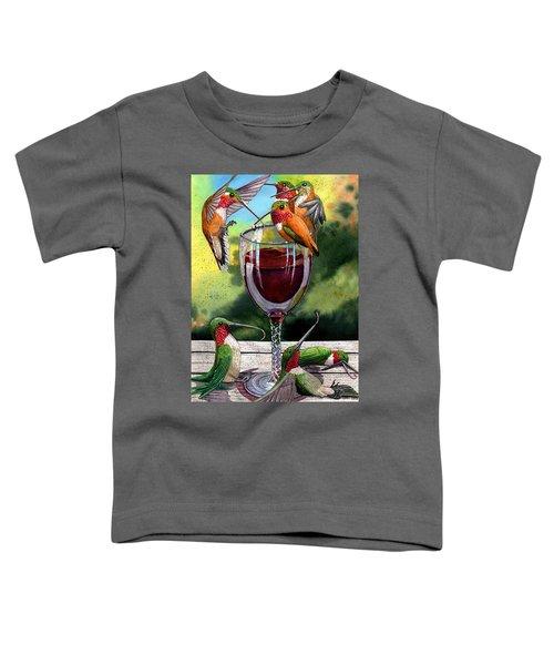 Red Winos Toddler T-Shirt