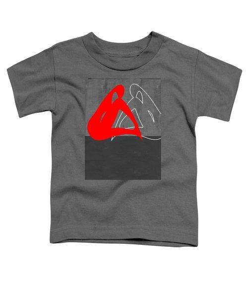 Red Woman Toddler T-Shirt