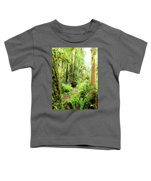 Red Woods Trail Toddler T-Shirt