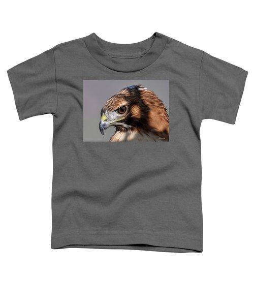 Redtail Hawk Toddler T-Shirt