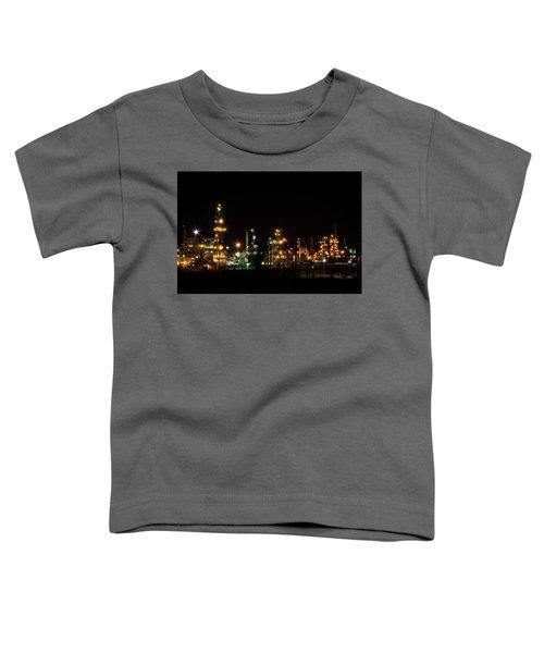 Refinery At Night 2 Toddler T-Shirt