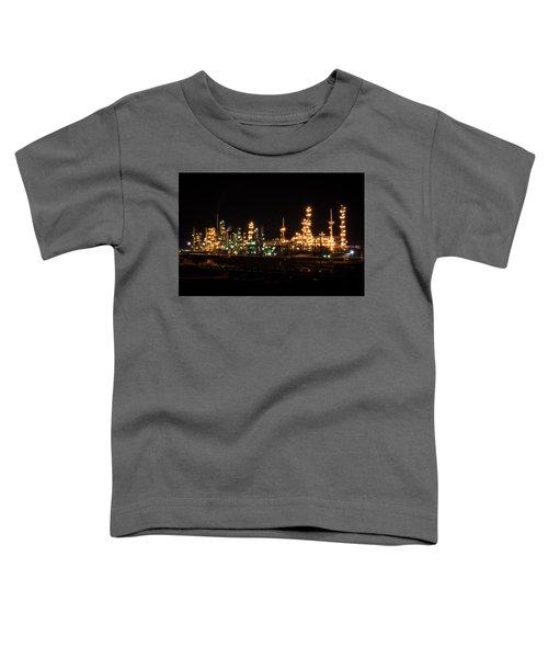 Refinery At Night 3 Toddler T-Shirt