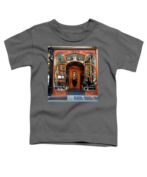Reflecting On A Cambridge Shoe Shine Toddler T-Shirt
