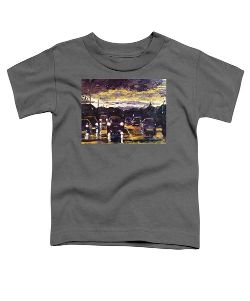 Reflecting On The Commute Toddler T-Shirt