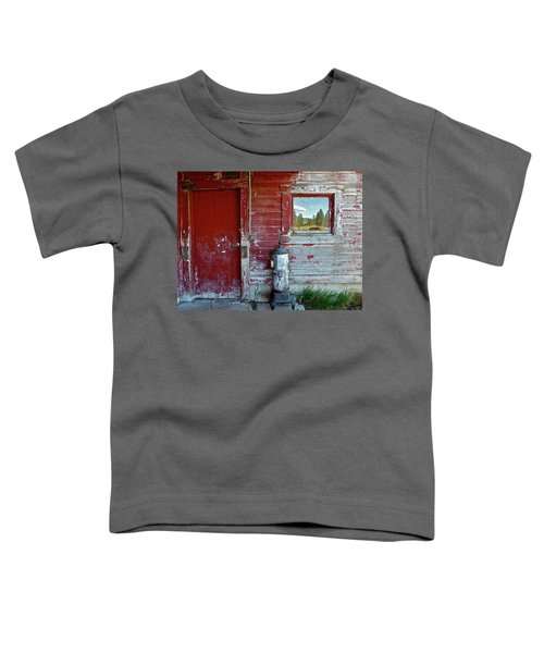 Reflecting The Landscape Toddler T-Shirt