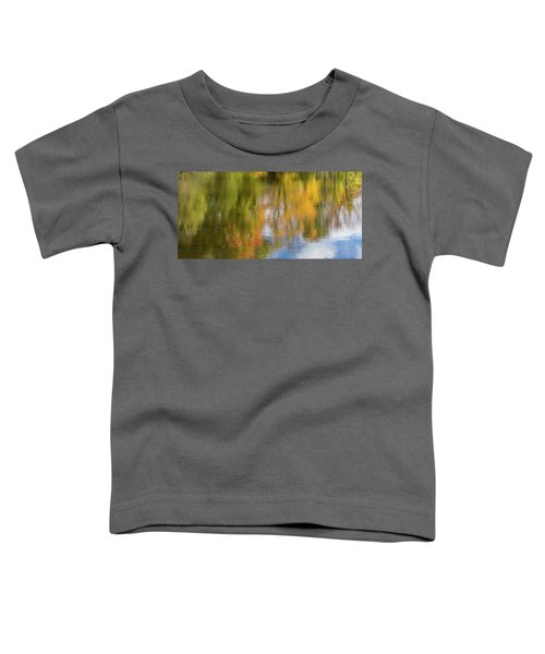 Reflection Of Fall #1, Abstract Toddler T-Shirt