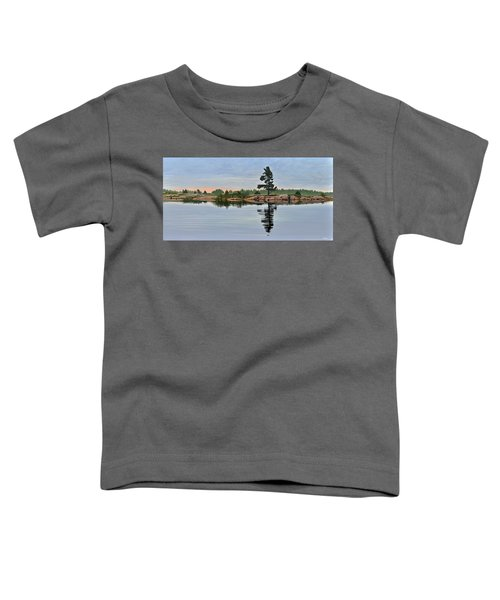 Reflection On The Bay Toddler T-Shirt