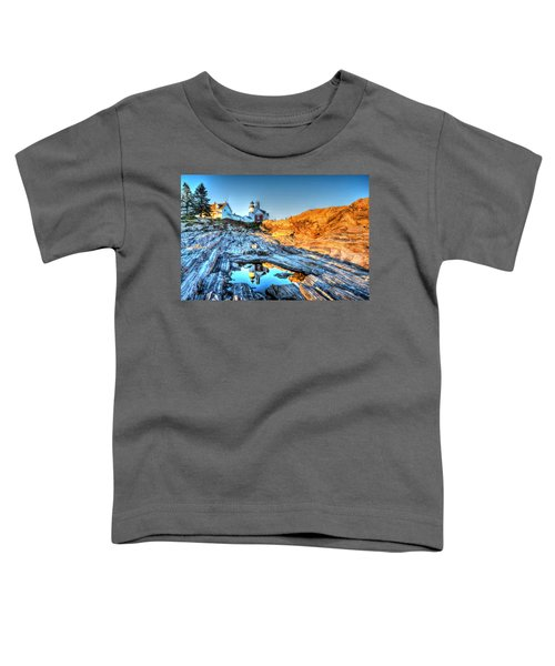Reflections At Pemaquid Point Toddler T-Shirt