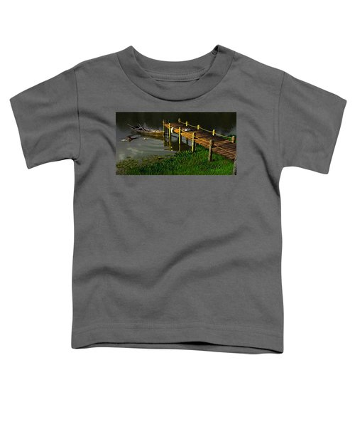 Reflections In A Restless Pond Toddler T-Shirt