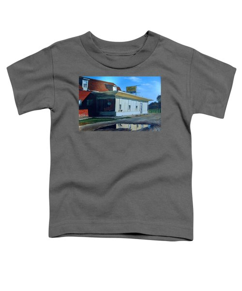 Reflections Of A Diner Toddler T-Shirt