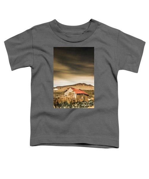 Regional Ranch Ruins Toddler T-Shirt