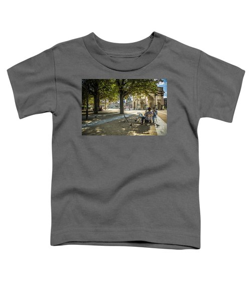 Relaxing Afternoon In Paris Toddler T-Shirt