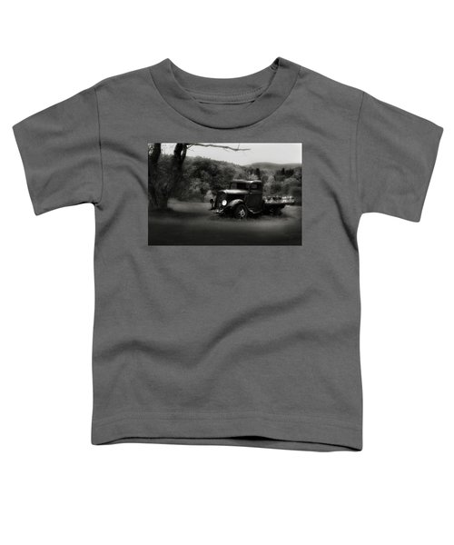 Toddler T-Shirt featuring the photograph Relic Truck by Bill Wakeley