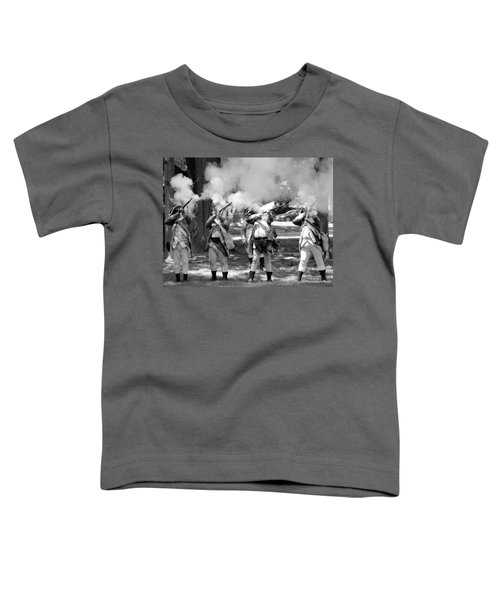 Reliving History-bw Toddler T-Shirt