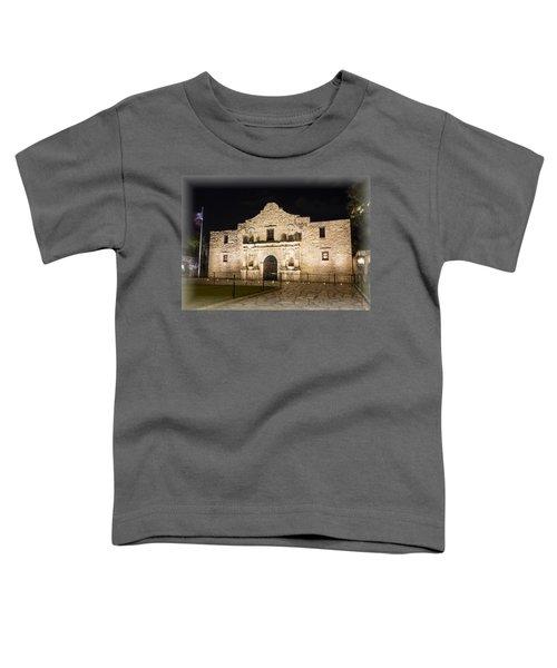 Remembering The Alamo Toddler T-Shirt