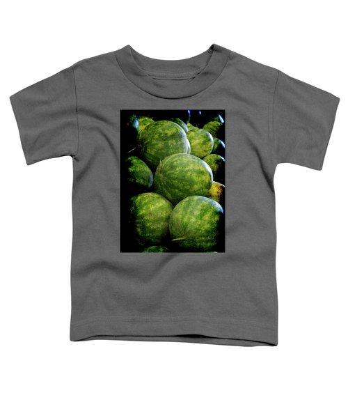 Renaissance Green Watermelon Toddler T-Shirt