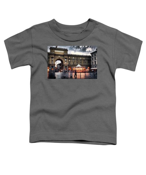 Republic Square In The City Of Florence Toddler T-Shirt