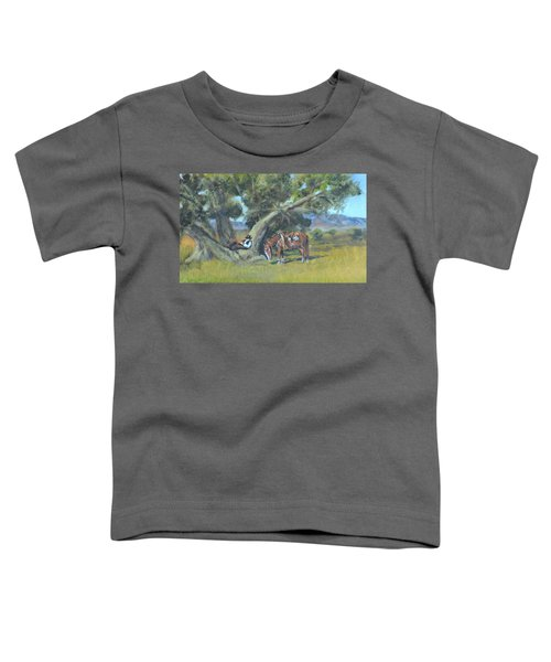 Resting Cowboy Painting A Study Toddler T-Shirt