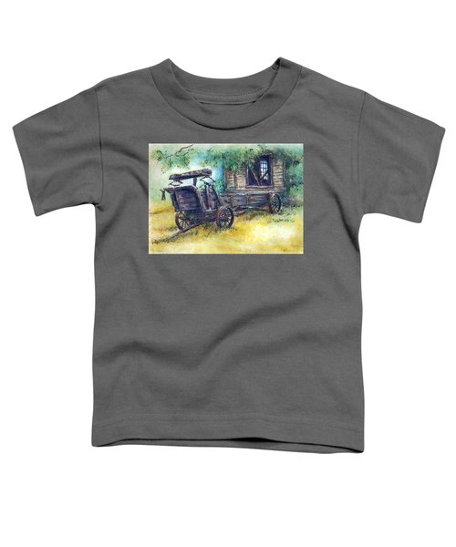 Retired At Last Toddler T-Shirt