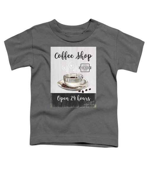 Retro Coffee Shop 1 Toddler T-Shirt