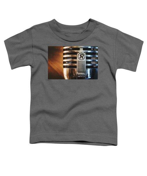 Retro Microphone Toddler T-Shirt