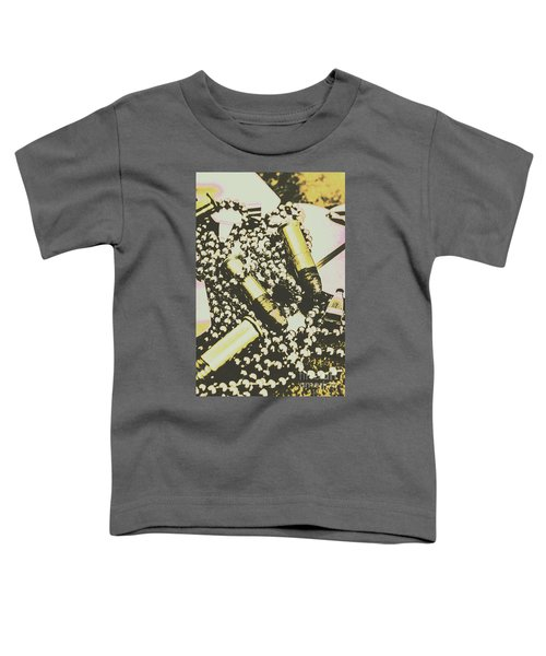 Retro Military Poster Art Toddler T-Shirt